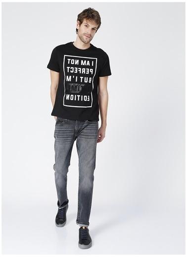 Black On Black Black On Black Memphis Siyah Erkek T-Shirt Siyah